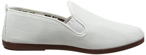 Flossy Damen Arnedo Espadrilles White (tela Bianca - 101)