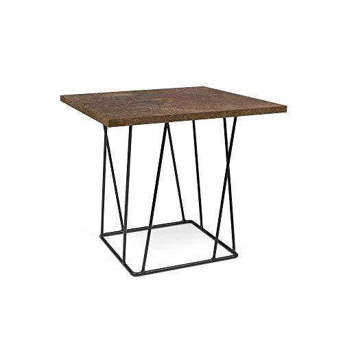 TemaHome Table Basse Helix 50 Structure laquée Noire