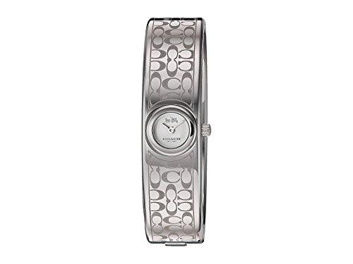Coach Damen-Scout 16mm Iconic Mini Armreif geätzt Signature C Edelstahl Armbanduhr
