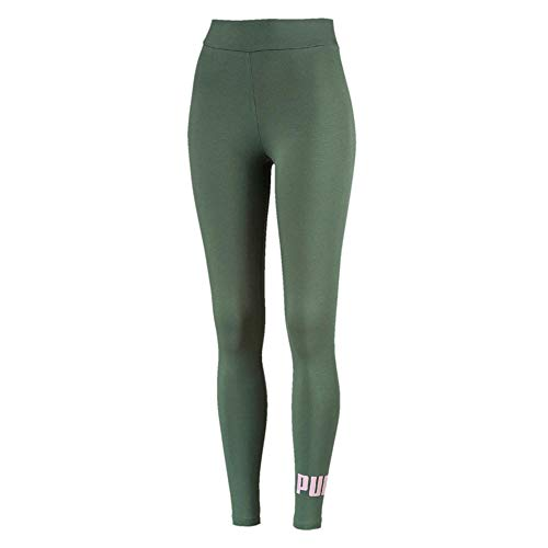 PUMA ESS Logo Pants, Mujer, Laurel Wreath/Winsome Orchid, S