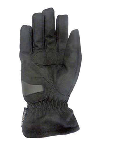Paio di guanti invernali da uomo omologati Mitsou Building Taglia XXXL per moto e scoot