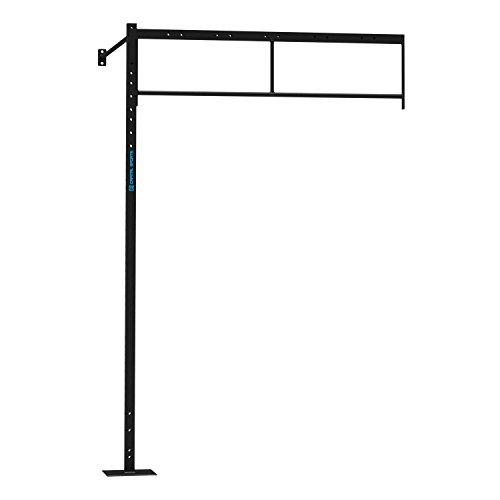 CAPITAL SPORTS Dominate W 173.170 Set Wall Mount Wandmontage Power Rack Gym Anbauteil Erweiterung kombinier- und erweiterbar 173 x 270 x 170 cm (2 x Pull-Up Station) Stahl schwarz