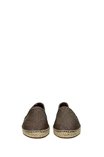 A50050AC14380720 Dolce&Gabbana Espadrilles Homme Cuir Marron clair Marron Clair