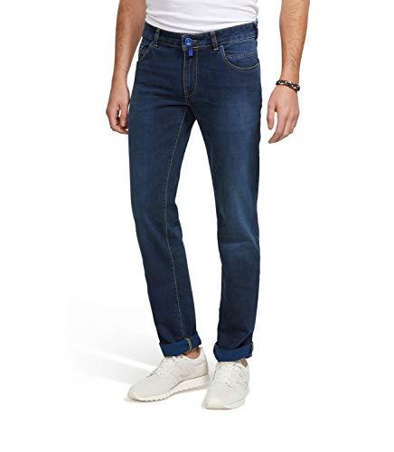 MEYER M5 by Herren Jeans Slim Fit - Five Pocket Denim, schmale Hose im Used Look Essentials Bootcut Jeans