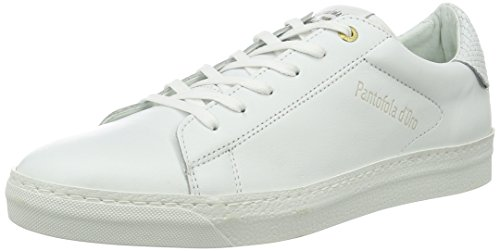 Pantofola d'Oro Firenze Uomo Low, chaussons d'intérieur homme Blanc (Bright White)
