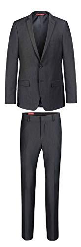 Thomas Goodwin - Slim Fit - Herren Mix&Match Anzug in anthrazit, Tom/Toby (20040), Größe:52, Farbe:Grey (720) -