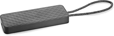 HP 1PM64AA#AC3 USB-C Mini USB 3.0 Dock with Type-C Cable - Black
