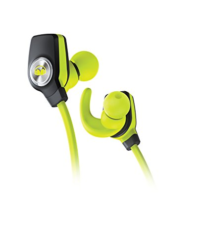 Wireless Monster Kopfhörer (Monster 128652 iSport Wireless Slim Kopfhörer grün)