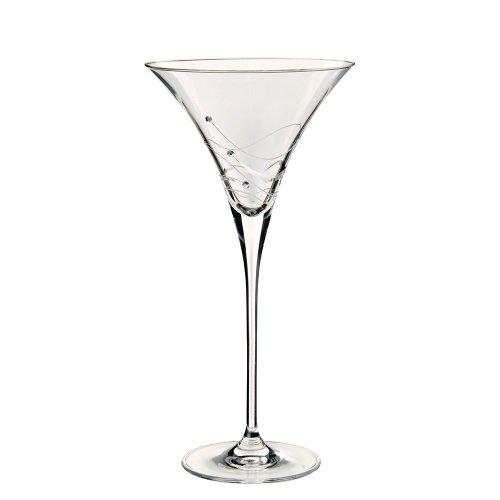 Crystal-martini-cocktail (Dartington Crystal Glitz Martinigläser, 2 Stück)