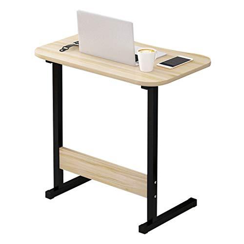 WQZB-Tabelle Laptop-Schreibtisch Typ C Ahorn Kirsche Holz Laptop-Fach Herausnehmbare Computer Halterung Notebook Tisch MDF Material Schreibtisch für Sofa/Schlafzimmer / Überbett (Kirsche-holz-küche-tisch)