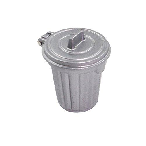 MagiDeal Mini 1:12 Mülltonne Abfalleimer für Puppen Haus Küchen Zimmer Zubehör Dekoration - - Puppe Küche