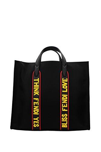 Handtaschen Fendi Herren - Stoff (7VA390AO1OF100I) (Fendi Canvas Handtasche)