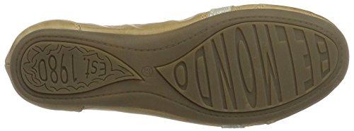Belmondo - Sneaker-damen, Pantofole Donna Elfenbein (Crema)
