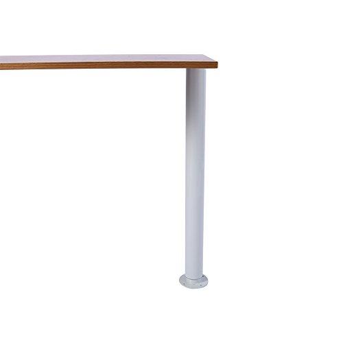 Tavolo regolabile gamba, 710–1100mm telescopico da bar supporto per piano tavolo gamba per tavolo da pranzo tavolino da bar, tavolo da ufficio, capacità di carico 74,8kilogram