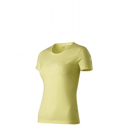 Mammut T–T-shirt de randonnée pour femme multicolore - jaune/vanille (amarillo (vanilla))