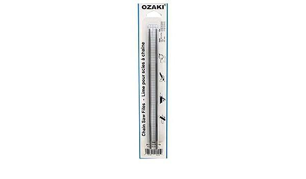L: 20cm Conditionnement par 6. 8 /Ø: 4,5mm 11//64 Lime ronde OZAKI pour cha/îne de tron/çonneuse