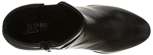 18095733 amp; Stiefeletten Hautlence Stiefel Spm Schwarz Damen 0IqWEwxqgT