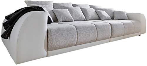 DELIFE Bigsofa Violetta 310x135 cm inklusive Kissen Big-Sofa