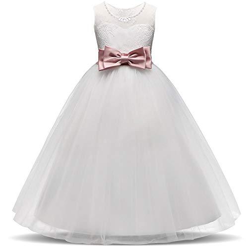 Spitze Prinzessin Kleid langes Kleid Geburtstag Halloween Weihnachten Brautkleid ()