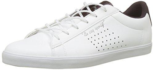Le Coq Sportif Agate Sport Optical White/Plum Perfect, Baskets Femme