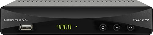 Digitalbox 77-560-00 Imperial T 2 IR Plus DVB-T2 HD Receiver mit Irdeto Entschlüsselung (Freenet TV, H.265/HEVC, PVR Ready, HDMI, SCART,...