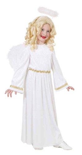 Kinder Kostüm Engel Christkind Weihnachten Karneval Fasching Gr.140