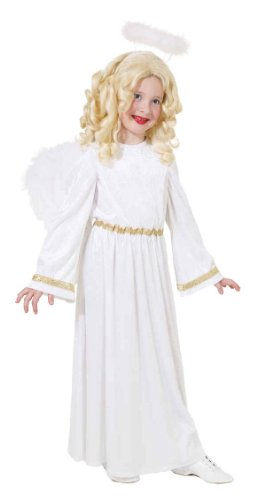 Christkind Kostüm - Kinder Kostüm Engel Christkind Weihnachten Karneval