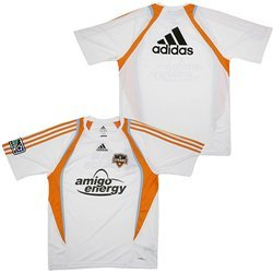 adidas MLS Houston Dynamo Training Jersey, Herren, weiß
