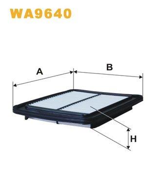 Luftfilter u.a. für Hyundai |Preishammer von kfzteile24 | Filter, Luftversorgung