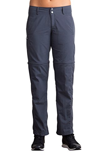 ExOfficio Men's BugsAway Sol Cool Ampario Convertible Pants - Insect, Tick, Mosquito Repellent Permethrin Clothing Cool Convertible Pant