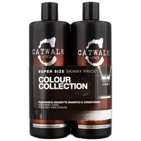 TIGI Catwalk Fashionista Fashionista Brunette Tween Set - Shampoo 750ml and Conditioner 750ml
