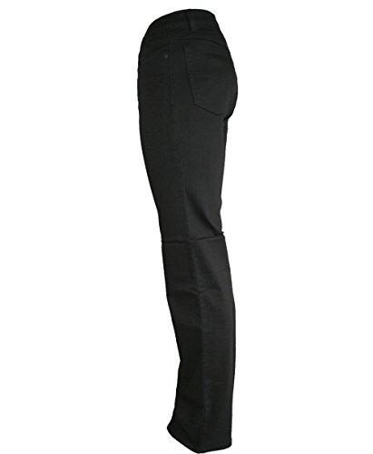 Paddock`s Herren Jeans Ranger - Slim Fit - Schwarz - Black/Black Schwarz