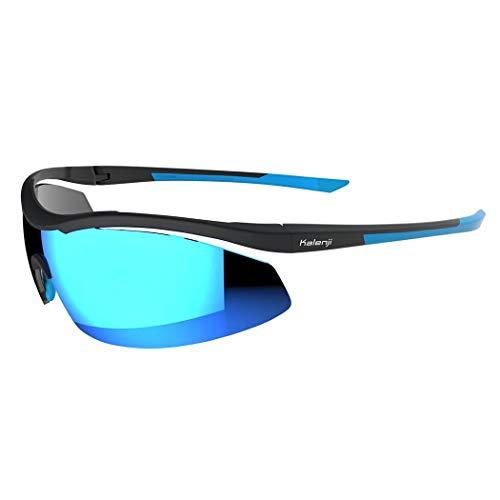 YONGYONG-Sunglasses Sonnenbrillen Laufen Sport Sonnenbrillen Männer Und Frauen Professionelle Outdoor Sonnenbrillen Anti-Skid Langlauf Marathon Brille (Farbe : Schwarz)