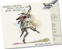 Folia 8331 Aquarell-,Calligraphie-,Urkunden- und Postkartenblöcke Aquarellblock 18 x 24 cm