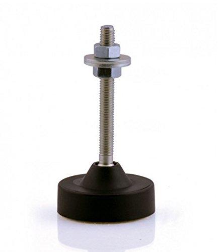 Schließsysteme mit schwenkbarem Gewindebolzen Ø 49 mm
