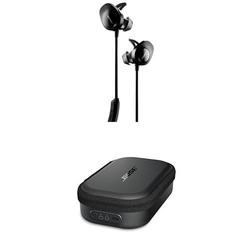 Foto Bose® SoundSport® Cuffie Wireless, Nero +  SoundSport Custodia...