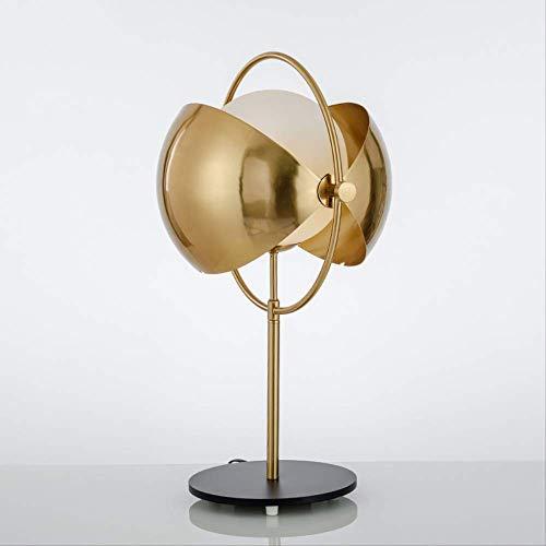 Lámpara de mesa moderna de bola de cristal Led luz de escritorio ...