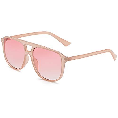 fazry Herren Damen Persönlichkeit Steampunk Sonnenbrille Retro Brille Brillen(D)