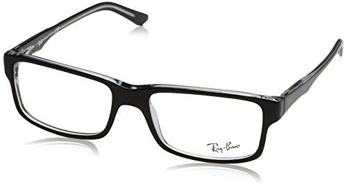 Preisvergleich Produktbild Ray-Ban Herren 5245 Brillengestelle, Schwarz (Negro), 54