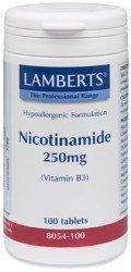 Lamberts Nicotinamide (Vitamin B3) 250mg - 100 tablets from Lamberts