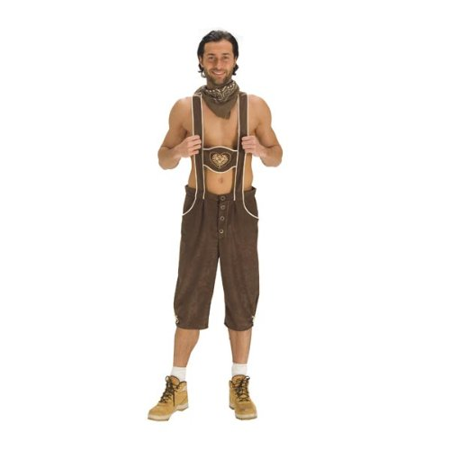 Preisvergleich Produktbild Kniebundhose Toni Oktoberfest Trachtenhose Kostüm (50/52)