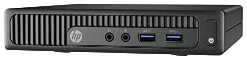 HP 260 G2 DM 2.3GHz i3-6100U Scrivania Nero