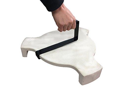 BBQ Plate Setter Heber, Dracarys Heat Deflector Werkzeuge auf die Pizza Stone Platte passt Passend für Big Green Egg Heat - Grill Bbq Lifter