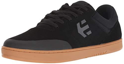 Dark Gum Schuhe (Etnies Marana Michelin Sneaker in Braun/Schwarz 4101000403 201, Schwarz - Black/Dark Grey/Gum - Größe: 44.5 EU)