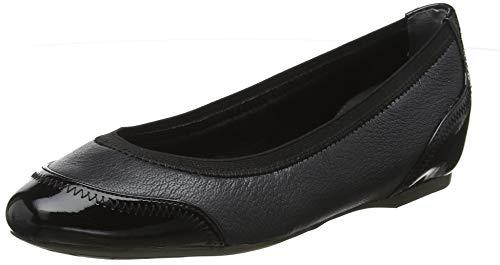 Rockport Total Motion Hidden Wedge 20mm Crescent, Zapatos de tacón con Punta Cerrada para Mujer, Azul...