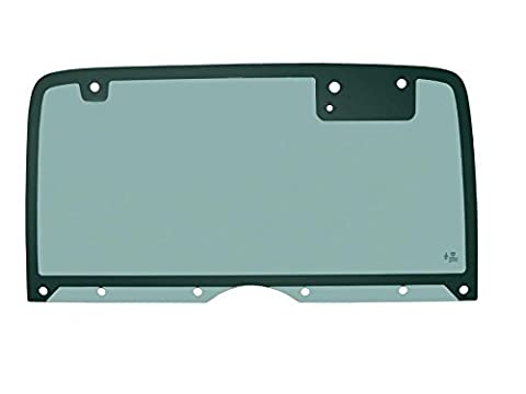 PPR Industries 30990190-95 Rear Glass Window Without Defrost For 1987-95 Jeep Wrangler Hardtop With 10 Holes by PPR Industries