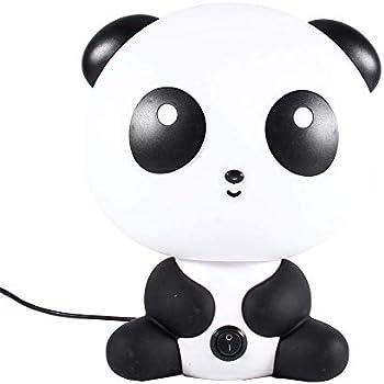 Lampe Table Nuit Bébé Abs Bureau Panda Forme De Led Plastique Pour Enfants Chambre Lumière Décoration Eu En Chevet KlFJ1Tc