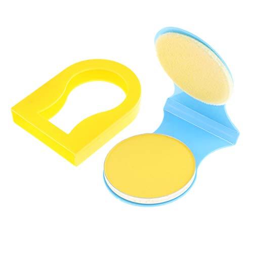 Temporäre Haarfärbemittel Färben Pulver Kuchen Cosplay Partei Make Up - Gelb