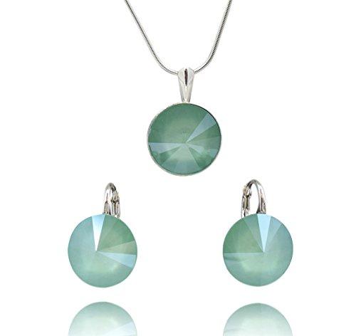 Crystals & Stones *RIVOLI* *Mint Green