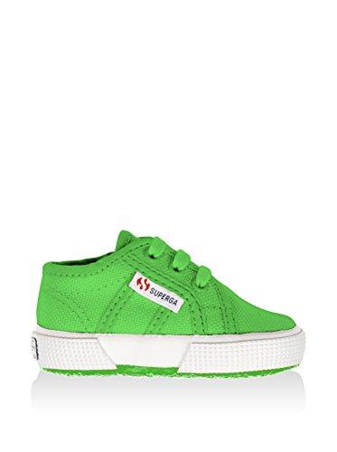 Superga 2750 Bebj Classic, Unisex-Erwachsene Training Verde(Bright Green)